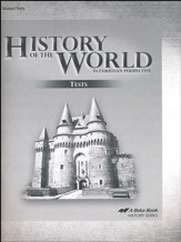Abeka History of the World in  Christian Perspective Test  Book (5th Edition)