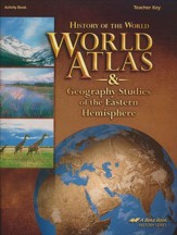 Abeka World Atlas and Geography Studies of the Eastern  Hemisphere Teacher's Key (5th Edition)