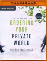 Ordering Your Private World - unabridged audio book on MP3-CD