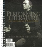 BJU Performing Literature: Oral Interpretation & Drama  Teacher's Edition