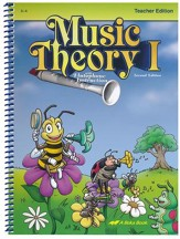 Abeka Music Theory 1 Teacher's Edition (Grades 3 & 4)