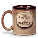 With God All Things Are Possible Ceramic Mug