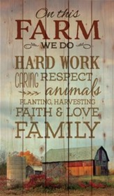 Farm Wall Art christian home country farmhouse chic - christianbook