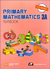 Singapore Math: Primary Math Textbook 3A US Edition