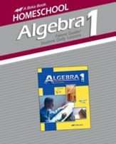 Abeka Homeschool Algebra 1 Parent Guide/Student Lesson Plans
