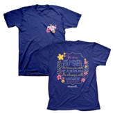 He Loved You Then Shirt, Blue, XX-Large