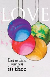 Love Ornament Advent Bulletins, 50