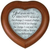 Serenity Prayer, Heart Shaped Music Box