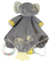 Elephant Chewbie Blankie, Grey