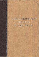 God's Promises for Your Every Need, Deluxe Edition - Slightly Imperfect