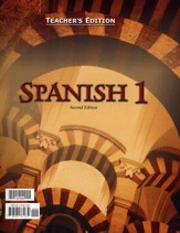 BJU Press Spanish 1 Teacher's Edition (Second Edition)