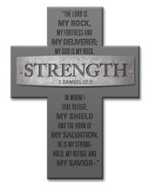 Strength, The Lord Is My Rock Cross