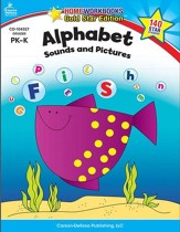 Home Workbooks Gold Star Ed, Alphabet Sounds & Pictures, PreK-K