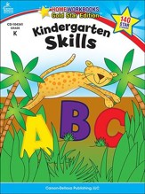 Home Workbooks Gold Star Edition, Kindergarten Skills, Grade K