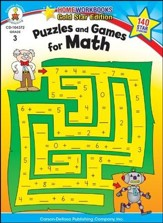 Puzzles and Games for Math Grade 3