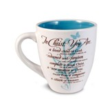 In Christ You Are, Mug