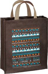 The Lord Will Bless Tote Bag, Psalm 121:8