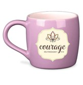 Filled With...Courage Ceramic Mug