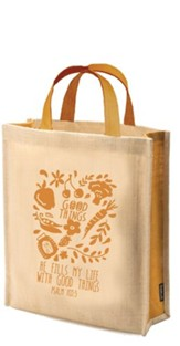 Good Things Tote Bag, Psalm 103:5
