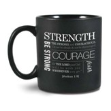 Strength Mug, Black