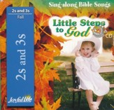 Little Steps to God (ages 2 & 3) Audio CD