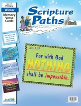Scripture Paths Primary (Grades 1-2) Memory Verse Visuals