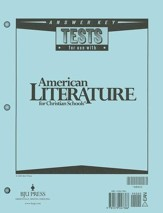 BJU American Literature Grade 11,  Tests Answer Key   (Revised Edition)
