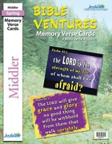Bible Ventures Middler (grades 3-4) Memory Verse Visuals (Spring Quarter)