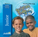 Scripture Probe Junior (grades 5-6) Audio CD (Spring Quarter)