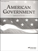 Abeka American Government Quizzes/Tests