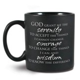 Serenity Prayer Ceramic Mug