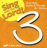 Sing unto the Lord! Grade 3 Audio CD