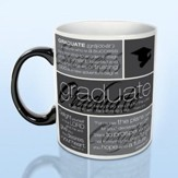 Graduate Word Collage - Ceramic Mug