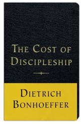 The Cost of Discipleship, Bonded Leather, Black