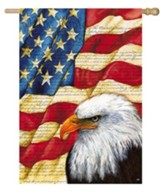 American Eagle Flag, Large