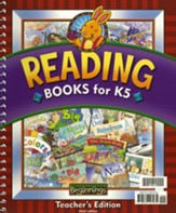BJU K5 Beginnings Reading Books Teacher's Edition, Third Edition