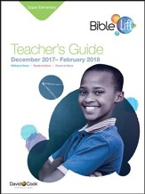 Bible-in-Life Upper Elementary Teacher's Guide, Winter 2016-17