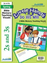 Little Hands Do His Will (ages 2 & 3) Bible Memory Verse Visuals (Spring Quarter)