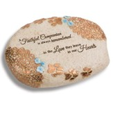 A Faithful Companion Is Always Remembered, Pet Memorial Stone