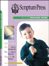 Scripture Press: 4s & 5s Teaching Guide, Winter 2017-18