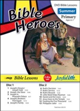 Bible Heroes Primary (Grades 1-2) Bible Lesson DVD