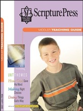 Scripture Press: Middler Grades 3 & 4 Teaching Guide, Winter 2016-17