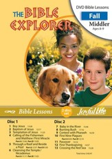 Bible Explorer Middler (Grades 3-4) Bible Lesson DVD