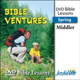 Bible Ventures Middler (grades 3-4) Bible Lesson DVD (Spring Quarter)