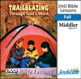 Trailblazing through God's Word Middler (Grades 3-4) Bible Lesson DVD