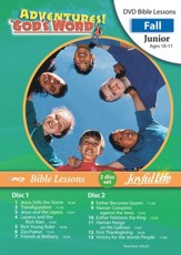 Adventures in God's Word Junior (Grades 5-6) Bible  Lesson DVD