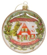 As for Me and My House, Glass Ornament