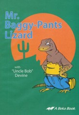 Abeka Mr. Baggy-Pants Lizard Audio CD