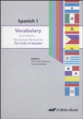 Abeka Por todo el mundo Spanish Year 1 Vocabulary Audio CD