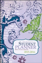 Well-Planned Day Student Planner (Floral Style July 2015 -  June 2016)